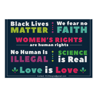 Solidaritäts-Plakat Poster