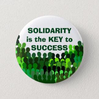 Solidaritätsknopf Runder Button 5,7 Cm
