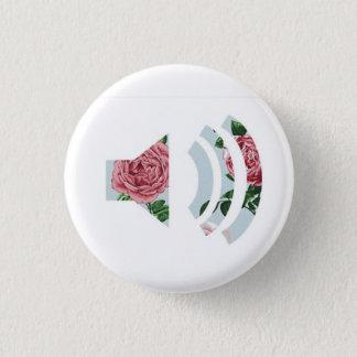 Solider mit Blumenknopf Runder Button 2,5 Cm