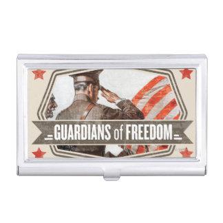 Solider-Wächter der Freiheit Visitenkarten Dose