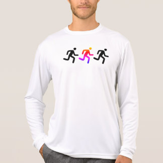 Solo- Ipanema Läufer zyklischer Blockprüfung T-Shirt