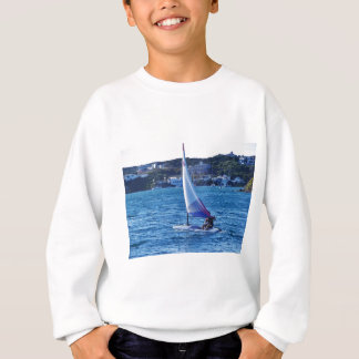 Solo- Segeln-Schlauchboot Sweatshirt