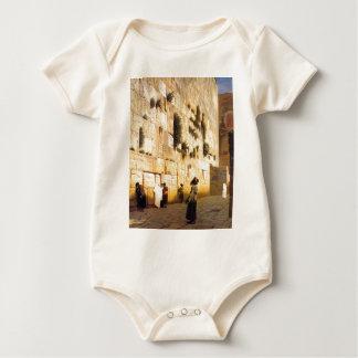 Solomons Wand, Jerusalem durch Jean-Leon Gerome Baby Strampler