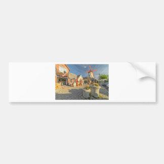 Solvang Windmühlen-Ansicht Autoaufkleber