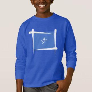 Somalia-Bürsten-Flagge T-Shirt