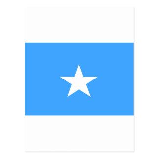 Somalia-Flagge Postkarte