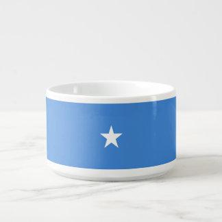 Somalia-Flagge Schüssel