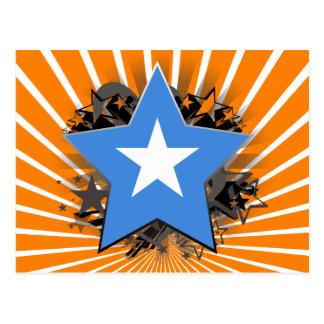Somalia-Stern Postkarte