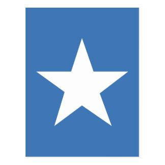 Somalische Flagge Postkarte