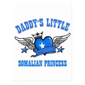 somalische Prinzessinentwürfe Postkarte