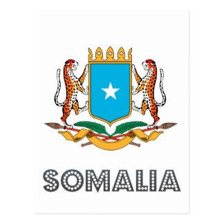 Somalisches Emblem Postkarte