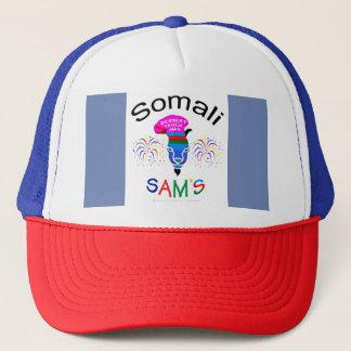 Somalisches Sam, Nachtisch-Mann, Truckerkappe