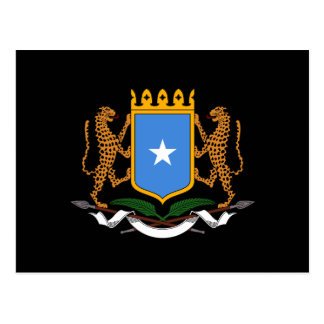 Somalisches Wappen Postkarte
