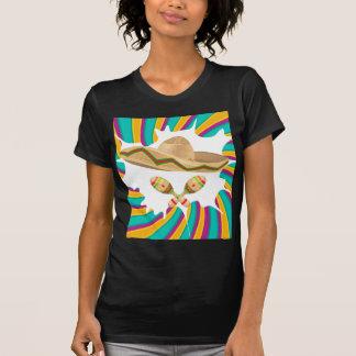 Sombrero und Maracas T-Shirt