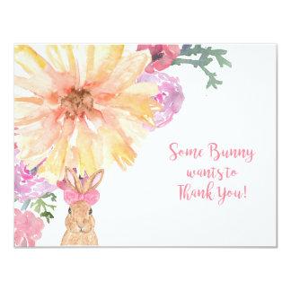 Somebunny danken Ihnen Anmerkungen für Geburtstag Karte