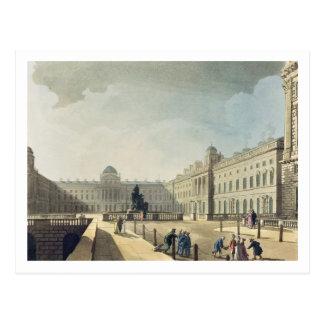 Somerset-Haus, Strang, von 'Ackermanns Microcos Postkarte