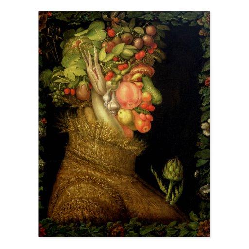 Sommer, 1573 postkarte
