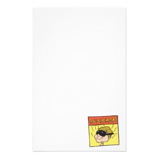 Sommer 6 personalisiertes druckpapier