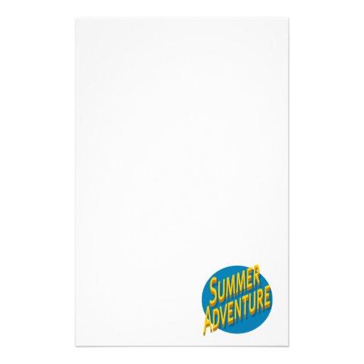 Sommer-Abenteuer Druckpapier