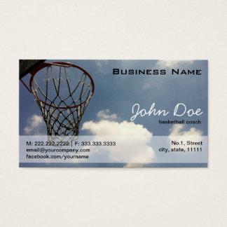 Sommer-Basketball Visitenkarte