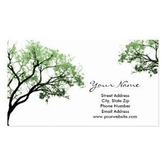 Sommer-Baum-Visitenkarten Visitenkarten