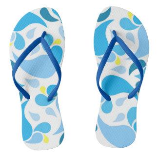 Sommer-Blues Flip Flops