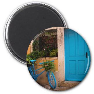 Sommer-Blues Runder Magnet 5,1 Cm