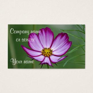 Sommer-Blumen-Foto Visitenkarte