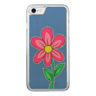 Sommer-Blumen-Illustration Carved iPhone 8/7 Hülle