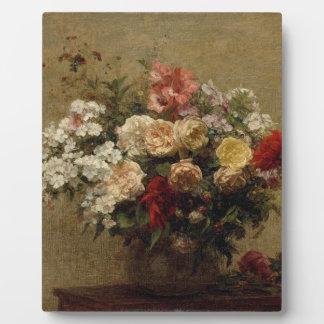 Sommer-Blumen - Realismus Fotoplatte