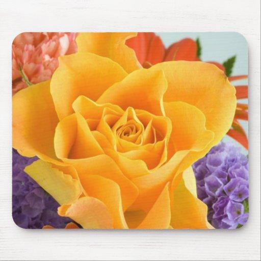 Sommer-Blumenstrauß Mauspad