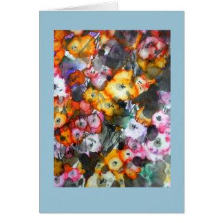 Sommer-Blüte Karte
