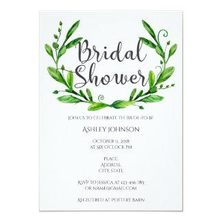 Sommer-Brautpartyeinladung. Garten-Party 12,7 X 17,8 Cm Einladungskarte