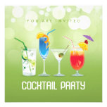 Sommer-Cocktail-Party Einladung