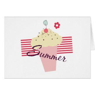 Sommer-Eistüte Karte