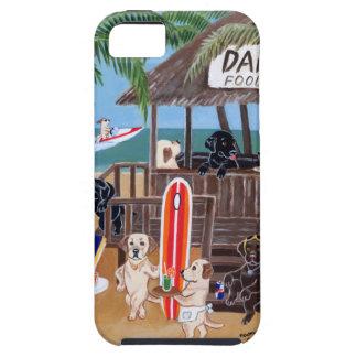 Sommer-Ferien Labradors Malerei iPhone 5 Schutzhülle