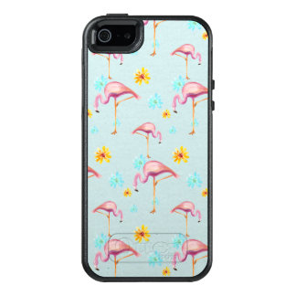 Sommer-Flamingo OtterBox Fall iPhone 6/6s OtterBox iPhone 5/5s/SE Hülle