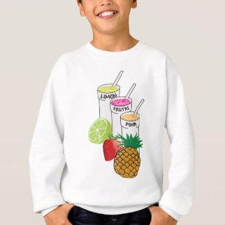 Sommer-Frucht Smoothie Sweatshirt