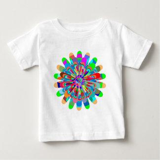 Sommer-Frühlingsfest-Farben-Spritzen Baby T-shirt