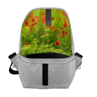 Sommer-Gefühle - wunderbare Mohnblumen-Blumen I Kuriertasche