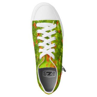Sommer-Gefühle - wunderbare Mohnblumen-Blumen I Niedrig-geschnittene Sneaker