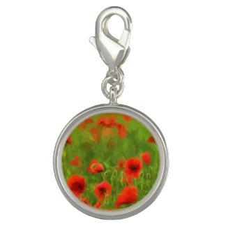 Sommer-Gefühle - wunderbare Mohnblumen-Blumen II Charm