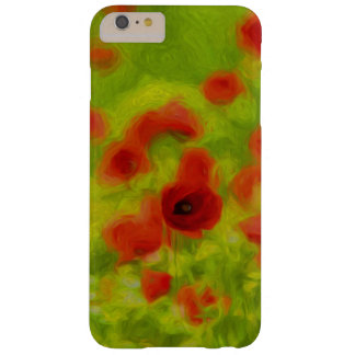 Sommer-Gefühle - wunderbare Mohnblumen-Blumen III Barely There iPhone 6 Plus Hülle