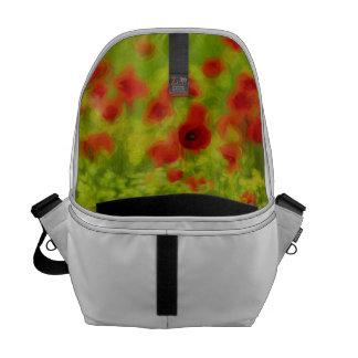 Sommer-Gefühle - wunderbare Mohnblumen-Blumen III Kuriertasche