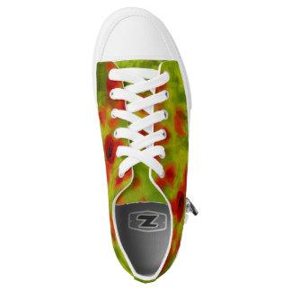Sommer-Gefühle - wunderbare Mohnblumen-Blumen III Niedrig-geschnittene Sneaker