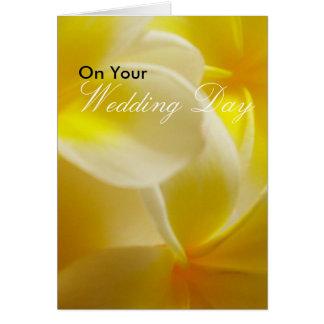 Sommer-Hochzeit Karte