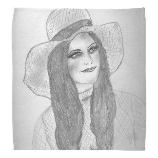 Sommer-Hut-Mädchen Kopftuch