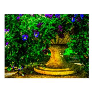 Sommer im Garten Postkarte