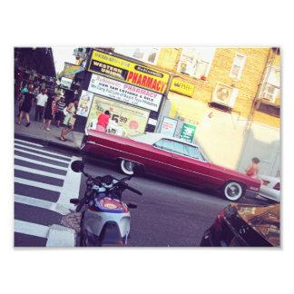 Sommer in der Stadt Fotodruck