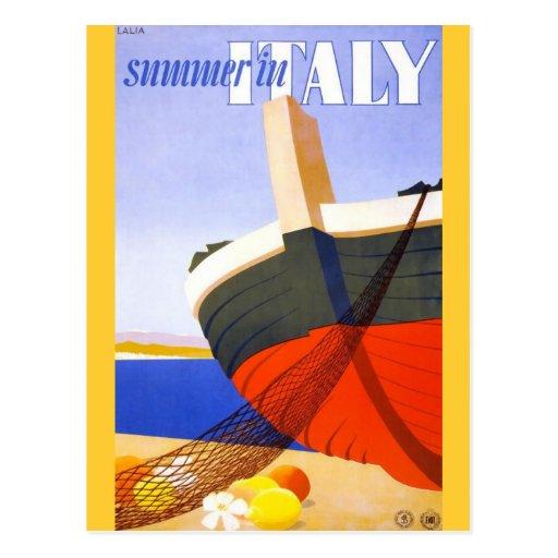 Sommer in Italien Postkarte